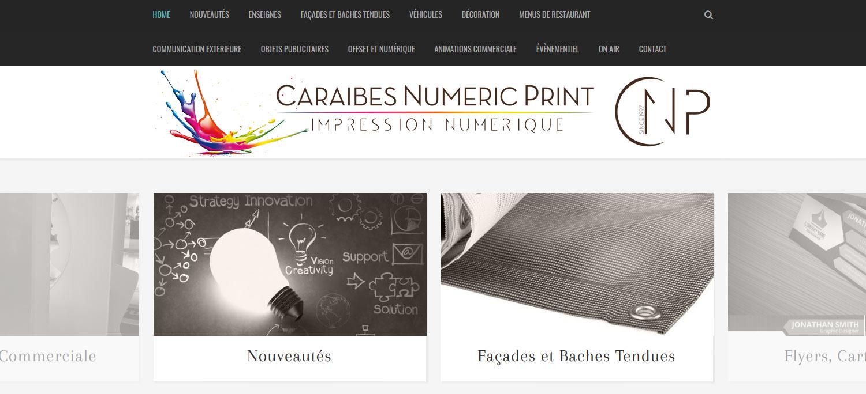Caraibes Numeric Print