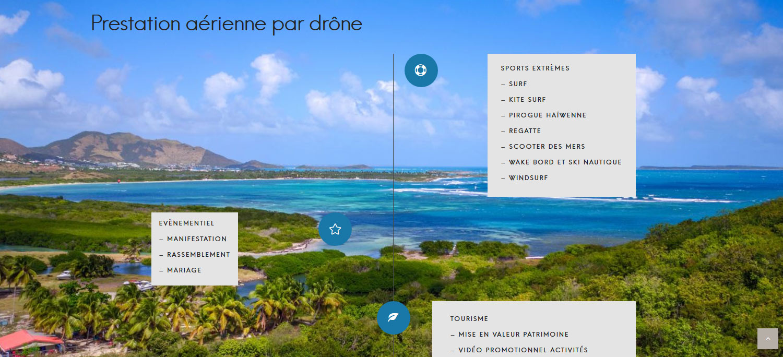 Drone St Martin St Maarten Carib Pict