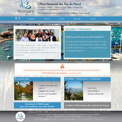 Etude notarial des Iles du Nord